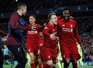 """""""Ливерпуль"""" сделал невероятный камбэк с 0:3 против """"Барселоны"""" и вышел в финал Лиги чемпионов"""