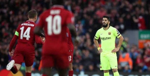 """Суарес сравнил игроков """"Барселоны"""" с детьми после разгрома от """"Ливерпуля"""""""