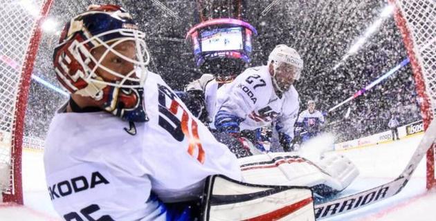 На чемпионате мира-2019 по хоккею случилась первая сенсация