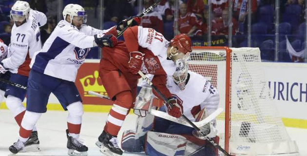 Дания отыграла отставание в две шайбы и победила Францию на старте ЧМ-2019 по хоккею