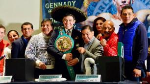 Головкин высказался о мексиканском стиле после ухода от Санчеса к новому тренеру