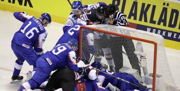 Канада дважды отыграла отставание в две шайбы и не дала состояться второй сенсации на ЧМ-2019 по хоккею
