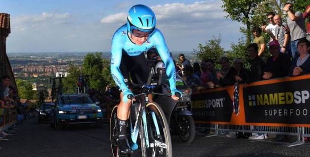 """Капитан """"Астаны"""" Лопес стал восьмым на четвертом этапе """"Джиро д'Италия"""""""