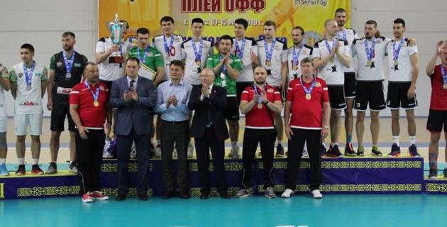 Определился новый чемпион Казахстана по волейболу