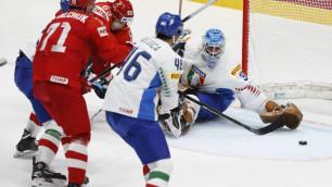Обидчик сборной Казахстана проиграл России со счетом 0:10 на ЧМ-2019 по хоккею