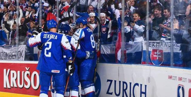 Норвегия и Словакия одержали победы в пятых матчах на ЧМ-2019 по хоккею