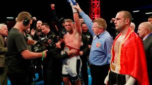 Сондерс завоевал титул чемпиона мира в первом бою после ухода из веса Головкина
