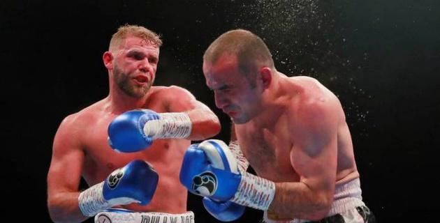 Видео боя, или как Сондерс завоевал титул чемпиона мира после ухода из веса Головкина