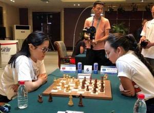 Абдумалик сыграла с сильнейшими шахматистками мира на Всемирных интеллектуальных играх