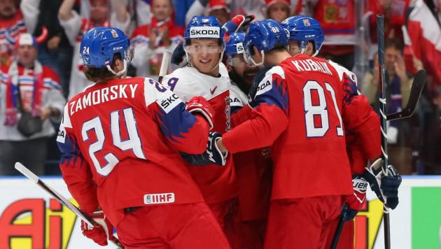 Чехия выиграла со счетом 8:0, а сборная США победила Германию на ЧМ-2019 по хоккею