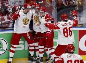 Россия выиграла шестой подряд матч, а Финляндия вернулась в лидеры группы на ЧМ-2019 по хоккею