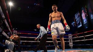 Видео нокаута, или как экс-партнер Головкина из зала Санчеса выиграл досрочно 14-й бой подряд