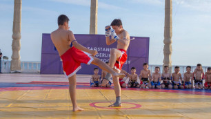 """""""Занятия спортом - это жизнь"""". Актау стал седьмым местом проведения национального фестиваля боевых искусств"""