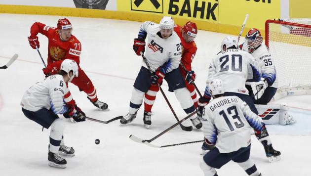 Сборная России победила США и первой вышла в полуфинал ЧМ-2019 по хоккею