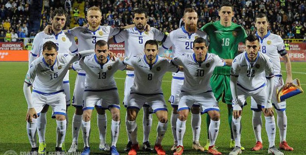 Два игрока из КПЛ вызваны в сборную Армении по футболу