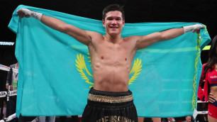 Олимпийский чемпион Данияр Елеусинов одержал седьмую победу в профи