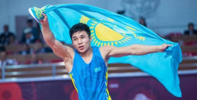 Казахстанский борец выиграл международный турнир в Италии