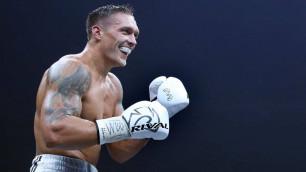 Александр Усик узнал дату возвращения после травмы и дебюта в супертяжелом весе