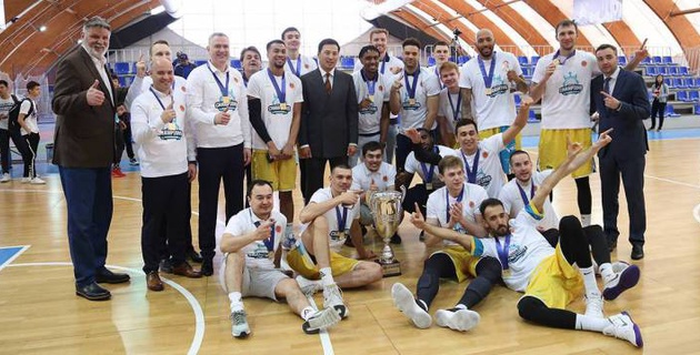 "Баскетболисты ""Астаны"" стали чемпионами Казахстана"