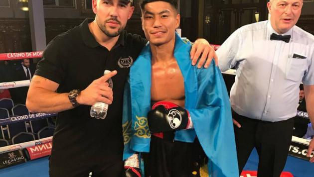 Вице-чемпион молодежного ЧМ из Казахстана нокаутировал соперника за 16 секунд до конца боя