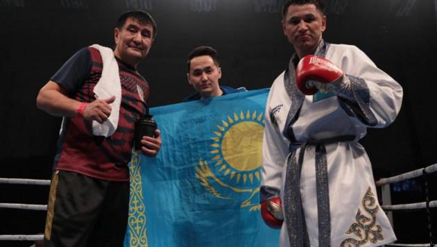Казахстанец Тураров вернулся в профи с досрочной победы над экс-соперником обидчика Пакьяо