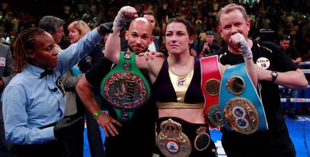 В профи-боксе появилась еще одна абсолютная чемпионка мира