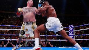 Тренировавшийся с Головкиным боксер сенсационно нокаутировал Джошуа
