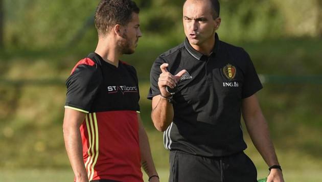 Новый вратарь, юбилей Азара и возможный уход тренера. Как Бельгия готовится к игре с Казахстаном