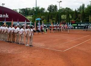 В южной столице стартовал теннисный турнир Almaty ATP Challenger