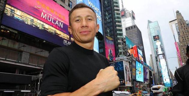 Художники и юные боксеры присоединились к флешмобу в поддержку Головкина перед боем с Роллсом
