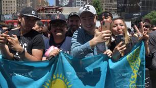 Казахстанцы смогут бесплатно посетить взвешивание Головкина и Роллса перед боем