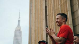 Головкин случайно вызвал на бой журналиста и рассмешил его коллег