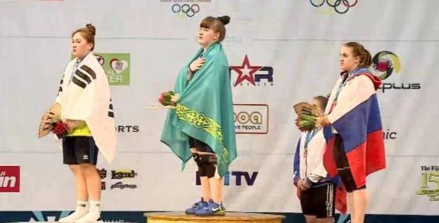 """Казахстан взял """"золото""""  на юниорском ЧМ по тяжелой атлетике в Фиджи"""