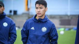 Сейдахмет вошел в стартовый состав молодежной сборной Казахстана на первый матч отбора на Евро-2021