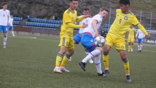 Молодежная сборная Казахстана по футболу забила три гола и стартовала с победы в отборе на Евро-2021