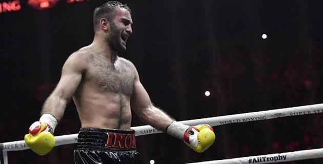 Назван соперник Гассиева по дебютному бою в супертяжелом весе в вечере бокса с участием Елеусинова