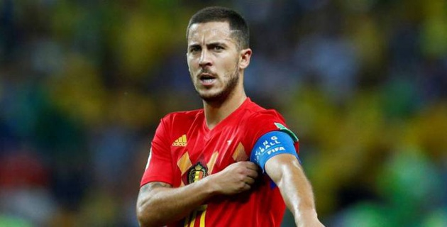 """Реал"" объявил о подписании бельгийца Эдена Азара"