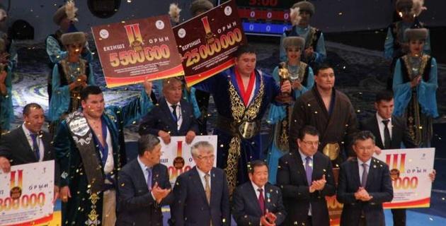 """Чемпион """"Казахстан Барысы-2019"""" рассказал, куда потратит часть от 25 миллионов тенге"""