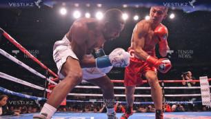 Головкин нокаутировал Роллса в дебютном бою на DAZN