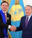 Назарбаев поздравил Головкина с победой над Роллсом