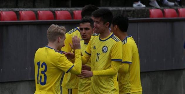 Прямая трансляция матча молодежной сборной Казахстана против Черногории в отборе на Евро-2021