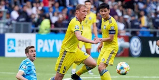 Сборная Казахстана превзошла некоторые постсоветские команды по набранным очкам в отборе к Евро-2020
