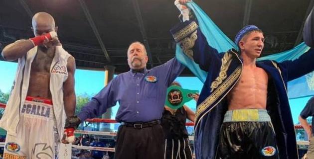 Казахстанский боксер-профессионал с 12 победами рассказал о бое за два титула в андеркарте у Каната Ислама