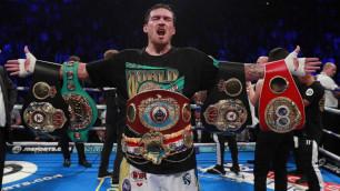 Усик стал вторым лучшим чемпионом первого тяжелого веса в истории WBC