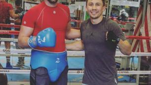 Тренировавшийся с Головкиным супертяж выиграл нокаутом четвертый бой подряд