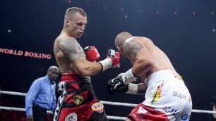 Новый чемпион WBO объяснил удар локтем и нокдаун после гонга в скандальном бою