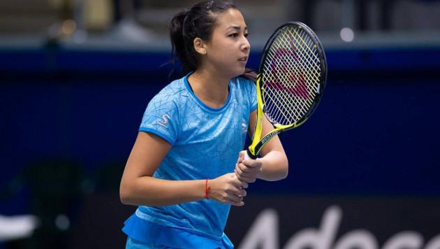 Зарина Дияс проиграла в финале турнира в Великобритании