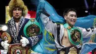 Непобежденные казахстанцы Ербосынулы и Жанабаев узнали место проведения титульных боев