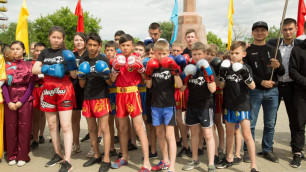 Кокшетау присоединился к национальному фестивалю боевых искусств