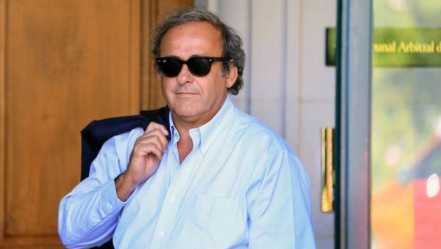 Бывшего президента УЕФА Платини освободили